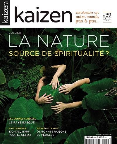 Kaizen 39 : La Nature, source de spiritualité ?