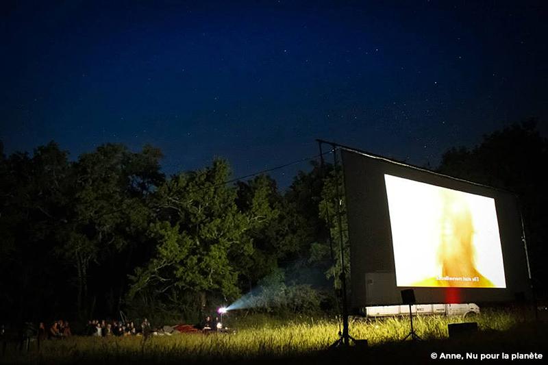 cinéma solaire en plein air